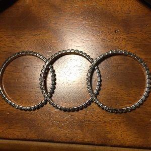 Touchstone Jewelry - Touchstone Crystal Stretchy Bracelets